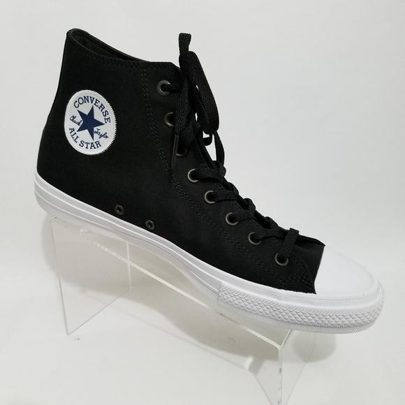 05a55da1099 Converse Chuck Taylor Shoes Mens 12 Black Lace Up